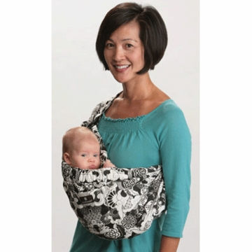 Balboa Baby Adjustable Sling in Geisha- Black & White
