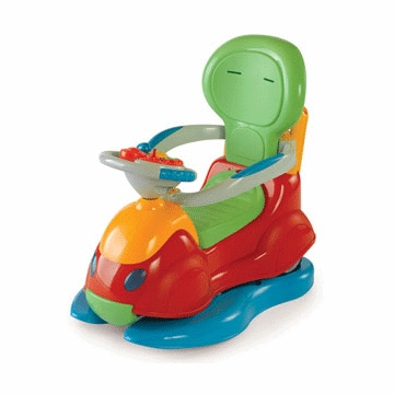 Chicco 4-in-1 Quattro Ride On Car - D