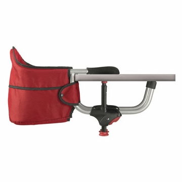 Chicco Caddy Hook-On High Chair in Red