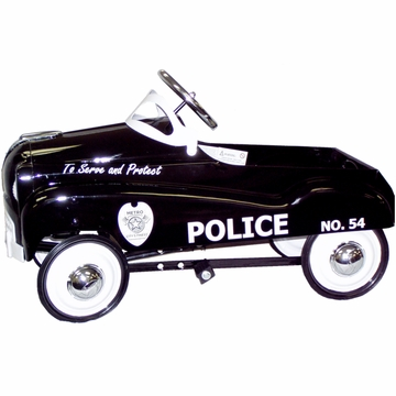 InStep Police Pedal Car Black