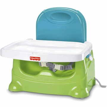Fisher-Price Healthy Care Booster in Green/Blue