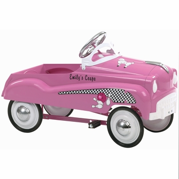 InStep Pink Lady Pedal Car Pink