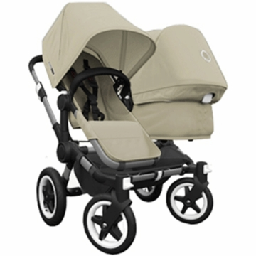 Bugaboo Donkey Duo Stroller in Sand/Sand