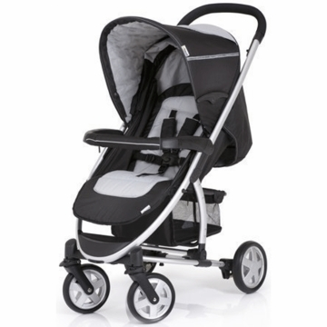 Hauck Malibu Stroller with Adapter in Black