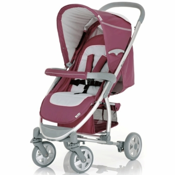 Hauck Malibu Stroller with Adapter in Violet