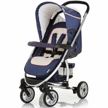 Hauck Malibu Stroller with Adapter in Navy