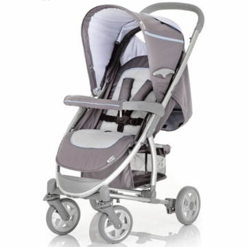 Hauck Malibu Stroller with Adapter in Grey