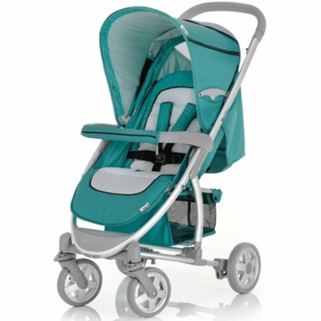 Hauck Malibu Stroller with Adapter in Petrol
