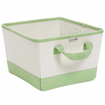 Munchkin Canvas Nursery Bin in Green 42437