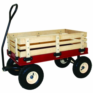 Kettler Air Tire Wooden Wagon