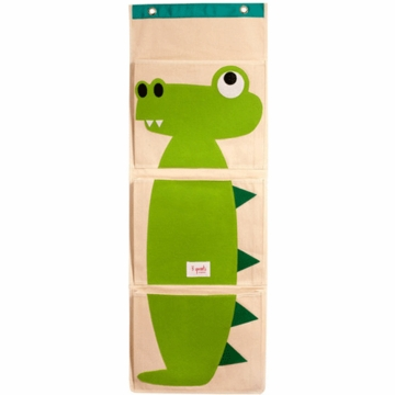 3 Sprout Wall Organizer in Alligator