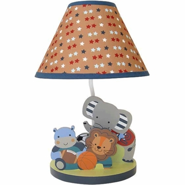 Bedtime Originals Teammates Lamp with Shade & Bulb