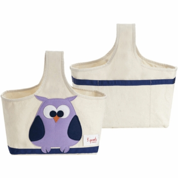 3 Sprout Storage Caddy in Owl Purple