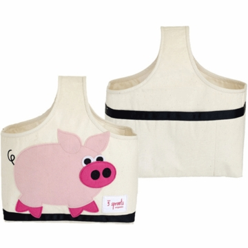 3 Sprout Storage Caddy in Pig Pink