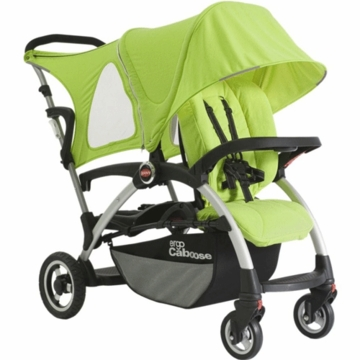 Joovy Ergo Caboose Deluxe Fleece Package in Appletree