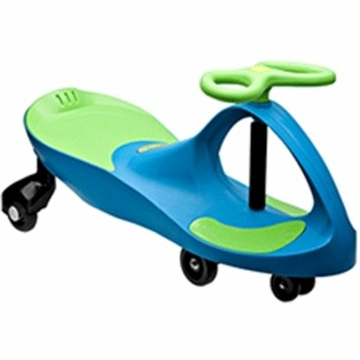 PlaSmart PlasmaCar in Aqua Blue/Lime Green