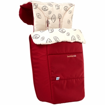 Bumbleride Footmuff & Liner in Ruby
