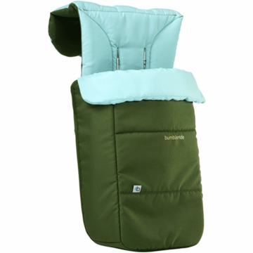 Bumbleride Footmuff & Liner In Seagrass
