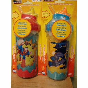 Munchkin DC Super Friends 10 oz. Insulated Straw Cup-1 Pack