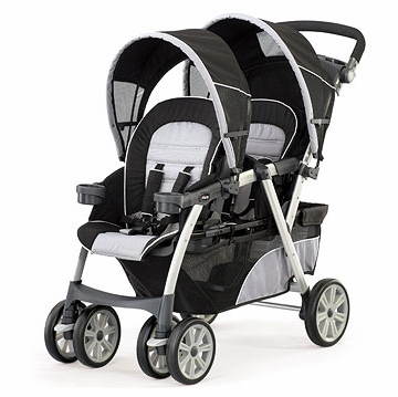 Chicco Cortina Together Double Stroller - Romantic -D
