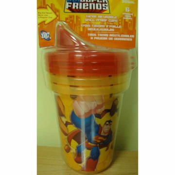 Munchkin DC Super Friends Re-Usable Spill Proof Cups- 3 Pack