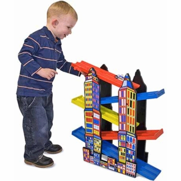Melissa & Doug City Ramp Racing Set