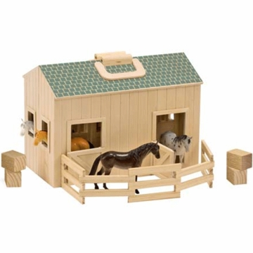 Melissa & Doug Fold and Go Stable