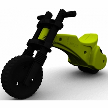 The YBIKE Original Balance Bike in Green