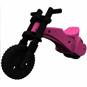 The YBIKE Original Balance Bike in Pink