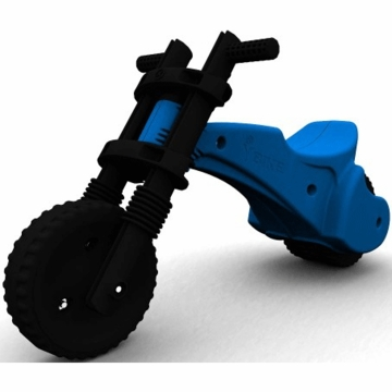 The YBIKE Original Balance Bike in Blue