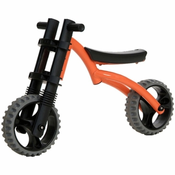 The YBIKE Extreme Balance Bike in Orange