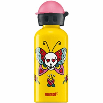 Sigg Kids Bottle .4 Liter in Girlie Skull
