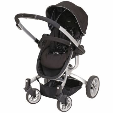 Teutonia T-Linx Stroller in Carbon Black