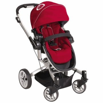 Teutonia T-Linx Stroller in Venetian Red