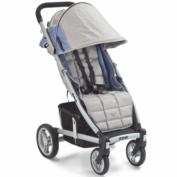 Valco Zee Single Stroller - Saphire with FREE Travel Bag
