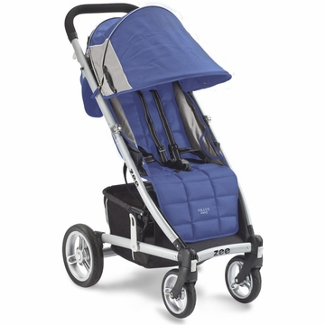 Valco Zee Single Stroller - Blue Opal with FREE Travel Bag