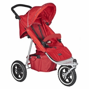 Valco Baby Matrix Stroller Red