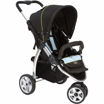 Valco Baby Latitude EX Stroller in Silk Black