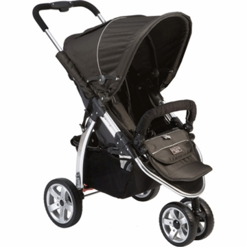 Valco Baby Latitude EX Stroller in Licorice