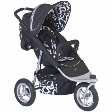 Valco Baby Trimode Single Jogging Stroller in Cirque