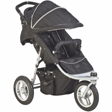 Valco Trimode EX Single Jogging Stroller Raven