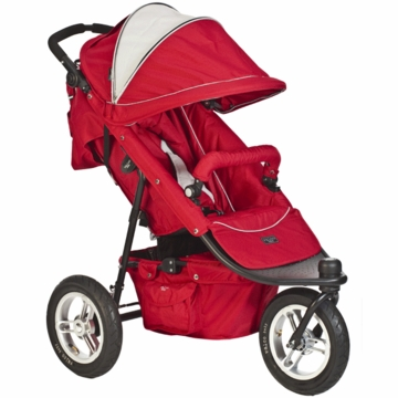 Valco Trimode EX Single Jogging Stroller Candy Apple