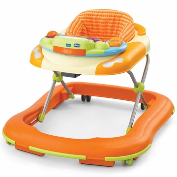 Chicco Dance Baby Walker - Happy Orange