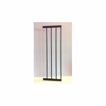 "Kidco 10 "" Extension for Angle-Mount Safeway Gate in Black"