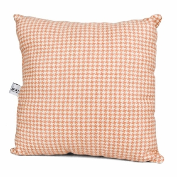Glenna Jean Just Buggy Pink Houndstooth Check Pillow