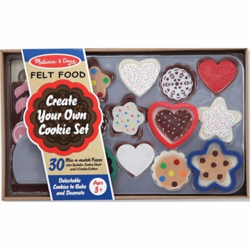 Melissa & Doug Felt Food Cookie Decorating Set