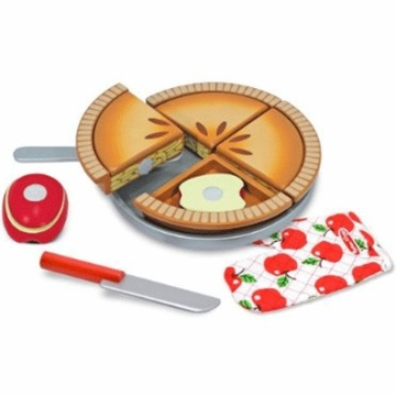 Melissa & Doug Wooden Make & Serve Apple Pie Set