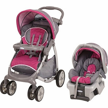 Graco  Stylus Travel System - Camille