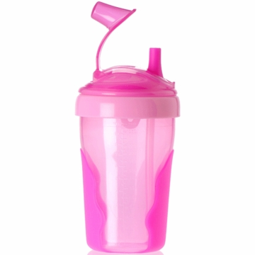 Vital Baby Toddler Straw Cup in Pink