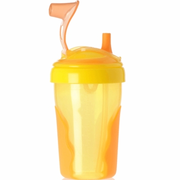 Vital Baby Toddler Straw Cup in Orange